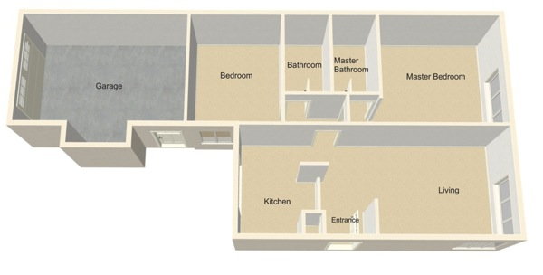 Leisure Village Homes floor plans Newport 2