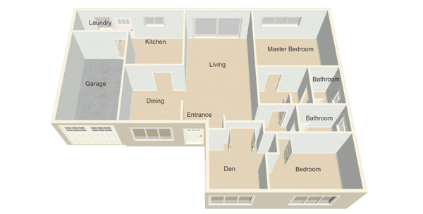 Leisure Village Homes floor plans Amalfi